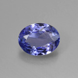 thumb image of 1.4ct Oval Facet Violet Blue Tanzanite (ID: 423677)