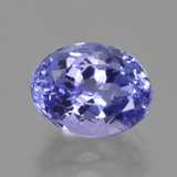thumb image of 2.8ct Oval Facet Violet Blue Tanzanite (ID: 423819)