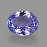 thumb image of 2.1ct Oval Facet Violet Blue Tanzanite (ID: 423821)