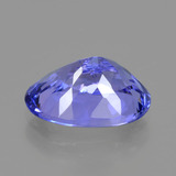 2.25 ct Oval Facet Violet Blue Tanzanite Gem 9.94 mm x 6.7 mm (Photo C)