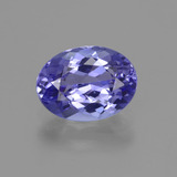 thumb image of 1.7ct Oval Facet Violet Blue Tanzanite (ID: 423862)
