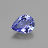 thumb image of 1.3ct Pear Facet Violet Blue Tanzanite (ID: 424076)