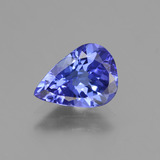thumb image of 1.6ct Pear Facet Violet Blue Tanzanite (ID: 424080)