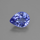 thumb image of 1.6ct Pear Facet Violet Blue Tanzanite (ID: 424083)