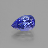 thumb image of 1.6ct Pear Facet Violet Blue Tanzanite (ID: 424088)