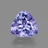thumb image of 1.9ct Trillion Facet Violet Blue Tanzanite (ID: 424096)