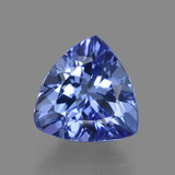 thumb image of 1.9ct Trillion Facet Violet Blue Tanzanite (ID: 424098)