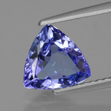 thumb image of 1.6ct Trillion Facet Violet Blue Tanzanite (ID: 424102)