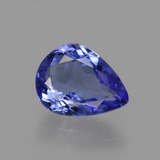 thumb image of 1.8ct Pear Facet Violet Blue Tanzanite (ID: 424119)