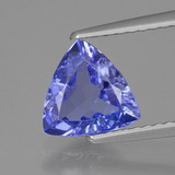 thumb image of 1.4ct Trillion Facet Violet Blue Tanzanite (ID: 424126)