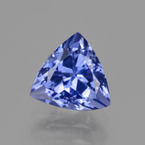 thumb image of 1.5ct Trillion Facet Violet Blue Tanzanite (ID: 424129)