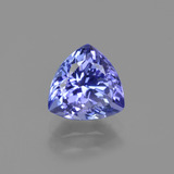 thumb image of 1.4ct Trillion Facet Violet Blue Tanzanite (ID: 424202)