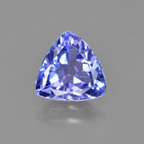 thumb image of 1.4ct Trillion Facet Violet Blue Tanzanite (ID: 424213)