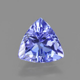 thumb image of 1.1ct Trillion Facet Violet Blue Tanzanite (ID: 424277)