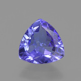 thumb image of 1.1ct Trillion Facet Violet Blue Tanzanite (ID: 424278)