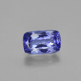 thumb image of 1.6ct Cushion-Cut Violet Blue Tanzanite (ID: 424539)
