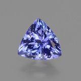 thumb image of 1.1ct Trillion Facet Violet Blue Tanzanite (ID: 424625)