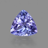 thumb image of 1.3ct Sfaccettatura trilliant Viola Blu Tanzanite (ID: 424626)