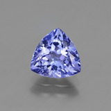 thumb image of 1.8ct Trillion Facet Violet Blue Tanzanite (ID: 424684)