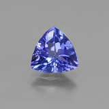 thumb image of 1.4ct Trillion Facet Violet Blue Tanzanite (ID: 424686)