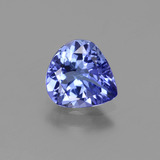 thumb image of 1.1ct Pear Facet Violet Blue Tanzanite (ID: 424712)