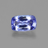 thumb image of 1.4ct Cushion-Cut Violet Blue Tanzanite (ID: 424740)