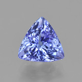 thumb image of 2.2ct Trillion Facet Violet Blue Tanzanite (ID: 424860)