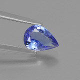thumb image of 0.8ct Pear Facet Violet Blue Tanzanite (ID: 424949)