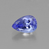 thumb image of 0.7ct Pear Facet Violet Blue Tanzanite (ID: 425217)