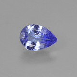 thumb image of 0.6ct Pear Facet Violet Blue Tanzanite (ID: 425379)