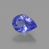 thumb image of 0.6ct Pear Facet Violet Blue Tanzanite (ID: 425385)