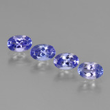 thumb image of 1.8ct Oval Facet Violet Blue Tanzanite (ID: 438147)