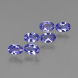 thumb image of 0.4ct Oval Facet Intense Violet Blue Tanzanite (ID: 438191)