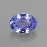 thumb image of 2.8ct Oval Facet Violet Blue Tanzanite (ID: 441130)