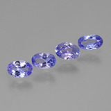 thumb image of 1.5ct Oval Facet Violet Blue Tanzanite (ID: 445838)