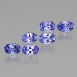 thumb image of 3.1ct Oval Facet Violet Blue Tanzanite (ID: 445913)