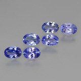thumb image of 2.9ct Oval Facet Violet Blue Tanzanite (ID: 445916)