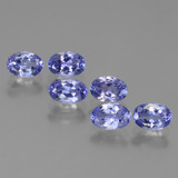 thumb image of 0.5ct Oval Facet Violet Blue Tanzanite (ID: 445986)