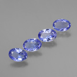 thumb image of 2.1ct Oval Facet Violet Blue Tanzanite (ID: 445993)