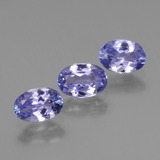 thumb image of 1.7ct Oval Facet Violet Blue Tanzanite (ID: 445995)