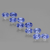 thumb image of 4.4ct Oval Facet Violet Blue Tanzanite (ID: 446151)