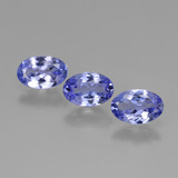 thumb image of 0.5ct Oval Facet Violet Blue Tanzanite (ID: 446447)