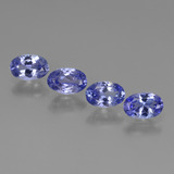thumb image of 1.7ct Oval Facet Violet Blue Tanzanite (ID: 446449)