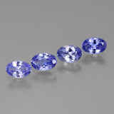 thumb image of 1.7ct Oval Facet Violet Blue Tanzanite (ID: 446452)
