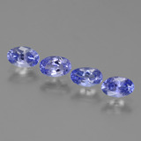 thumb image of 1.6ct Oval Facet Violet Blue Tanzanite (ID: 446457)