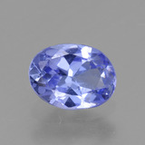 thumb image of 0.6ct Oval Facet Violet Blue Tanzanite (ID: 446486)