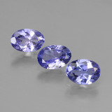 thumb image of 1.7ct Oval Facet Violet Blue Tanzanite (ID: 446489)