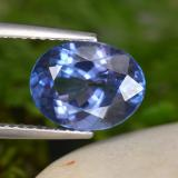 thumb image of 3.3ct Oval Facet Violet Blue Tanzanite (ID: 451434)