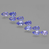 thumb image of 1.9ct Pear Facet Violet Blue Tanzanite (ID: 453917)