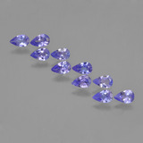 thumb image of 1.8ct Pear Facet Violet Blue Tanzanite (ID: 453918)